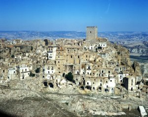 abandone city Craco Basilikata south italy